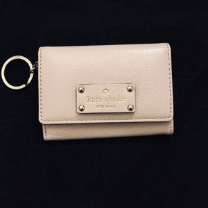 Authentic Kate Spade keychain wallet